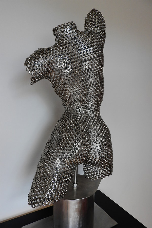 Buste femme Hestia Naturel Inox - William David