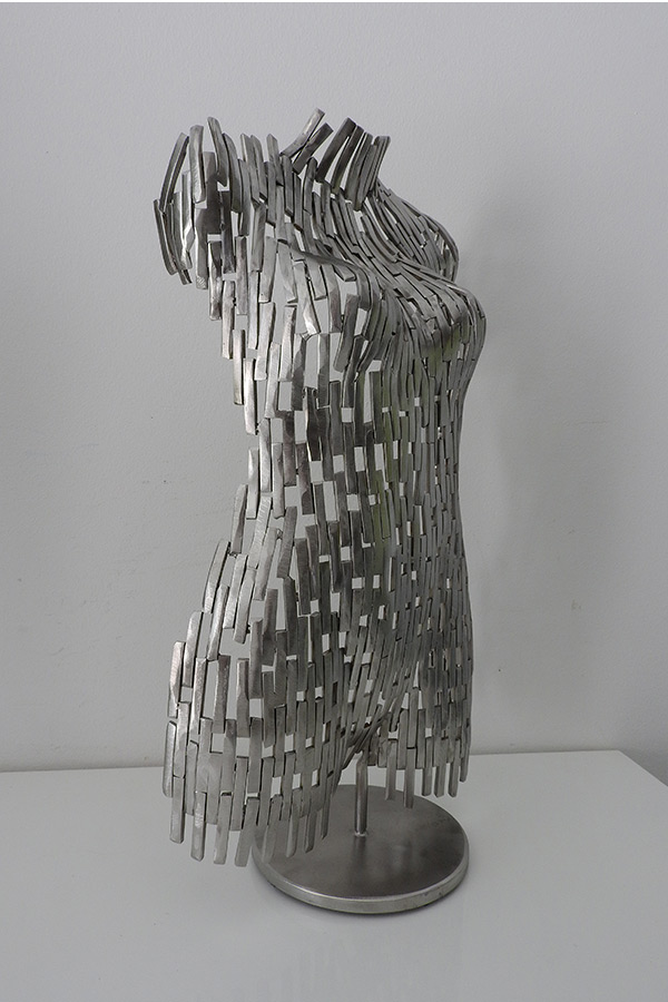 Petit Buste femme Laura Naturel Inox - William David